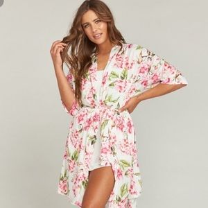 Show Me Your Mumu floral Brie Robe